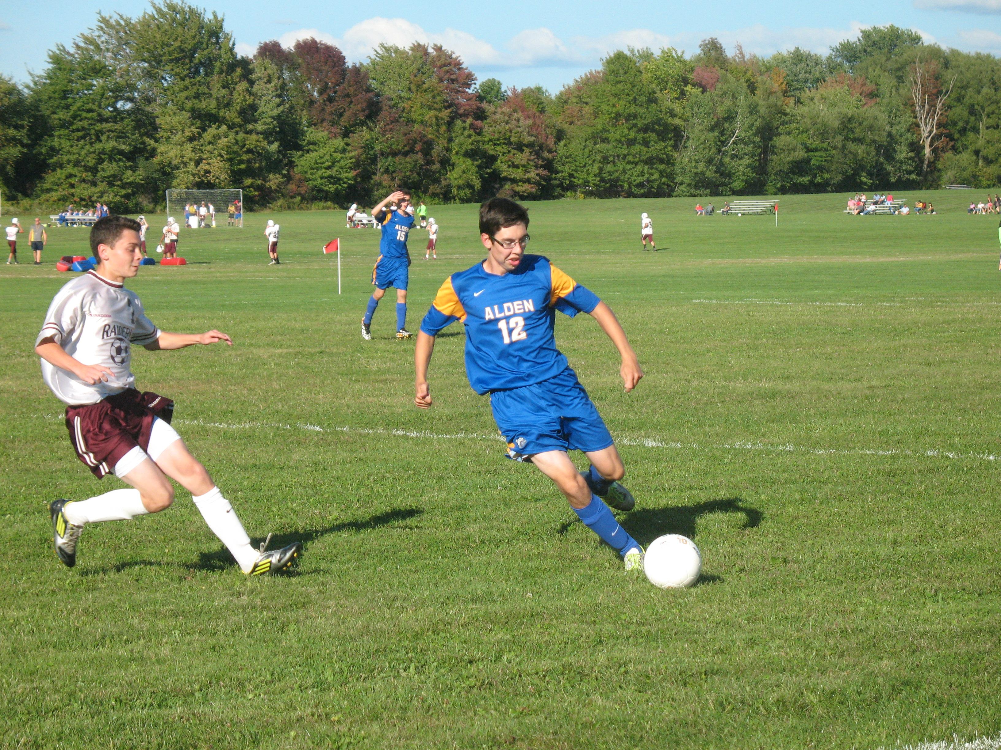 Boys Varsity Soccer 7-2