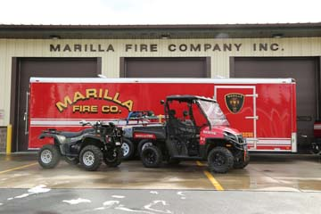 Marilla Fire Company Purchases Trailer