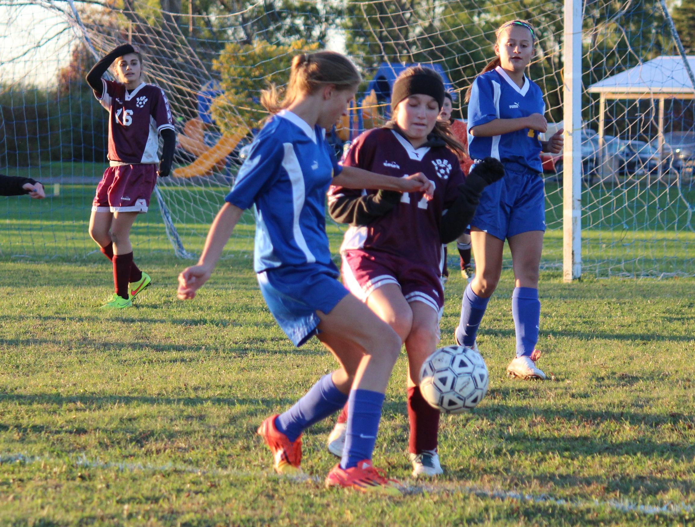 Modified Girl's Soccer Team defeats Tonawanda