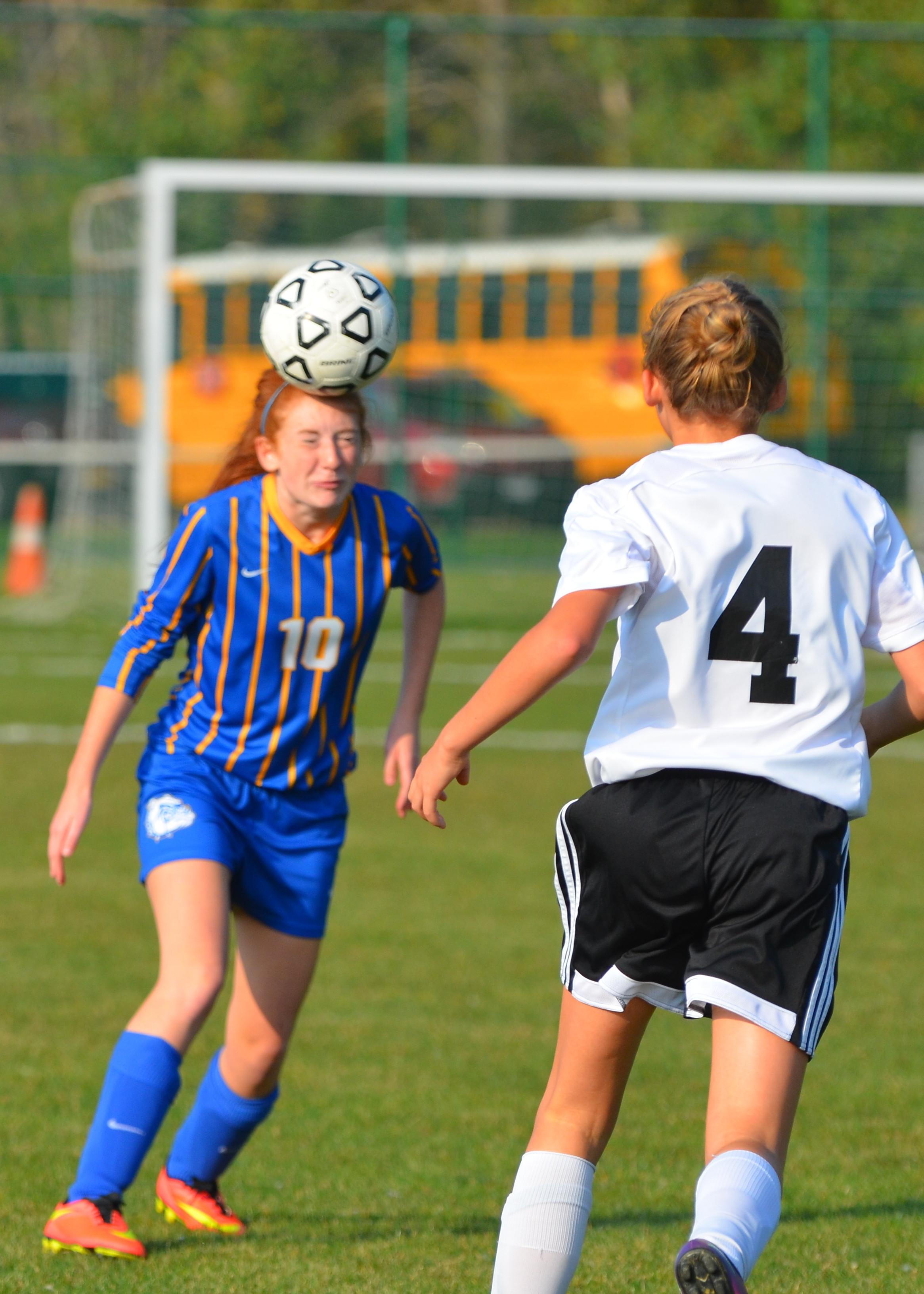 Girls Varsity Soccer Beats JFK