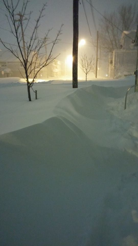 Village of Depew Unplowed
