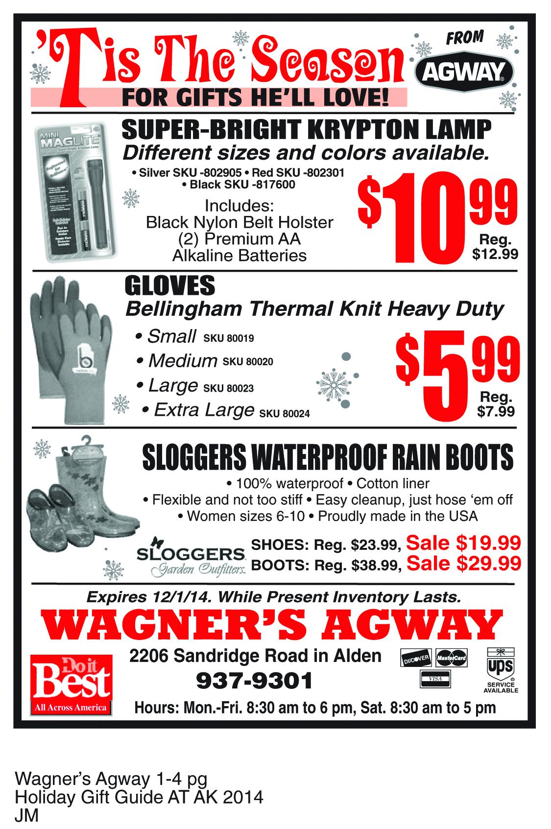 Agway Specials