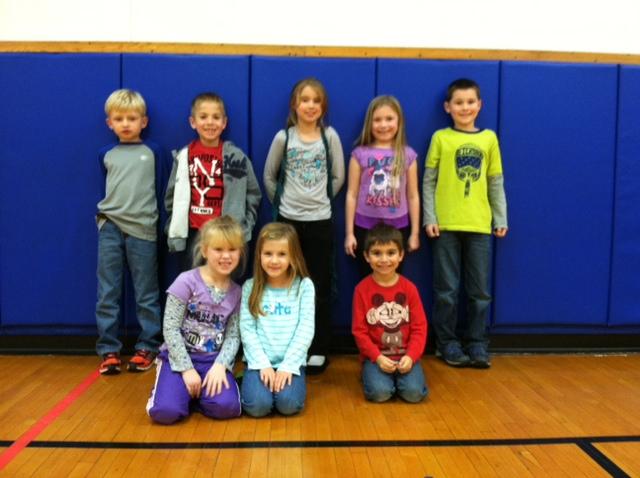 Mr. Bergler's Alden Primary Physical Education Stars