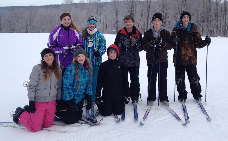 Middle School Cross Country Ski Trip