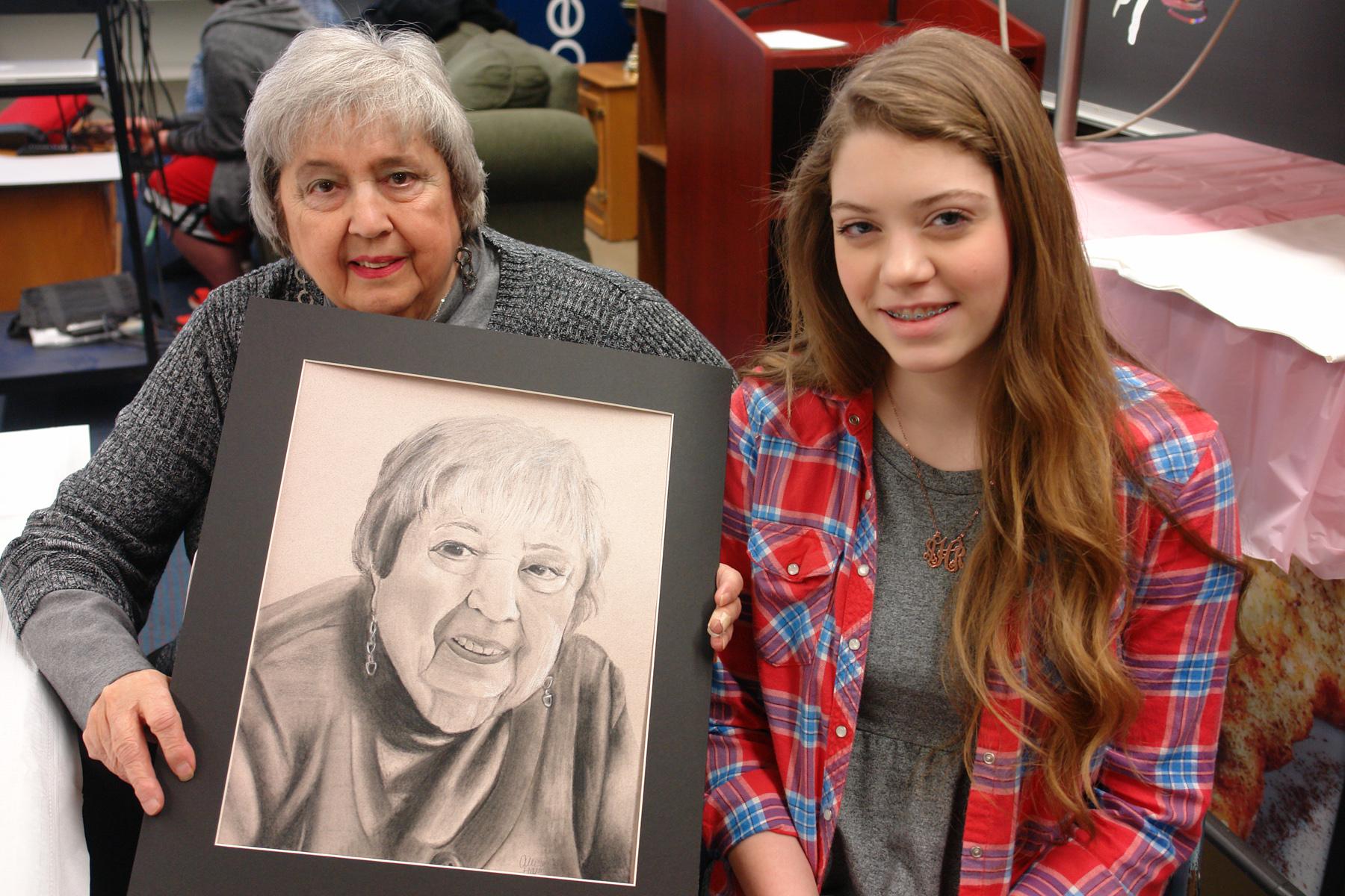 Alden Art Students Portrait Project