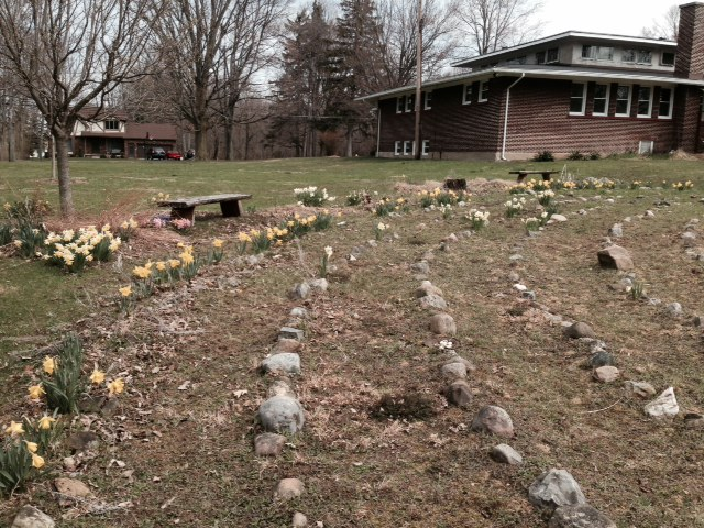 The Labyrinth at St. Aidan's Episcopal Church