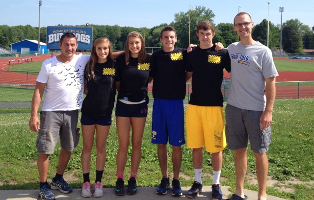 Track and Field Athletes Perform at States
