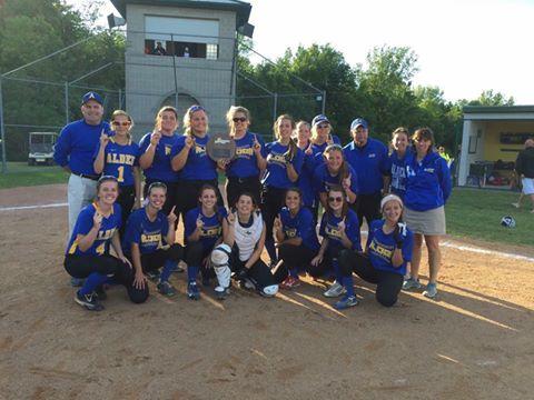 Send-off celebration for varsity softball