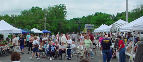 Farmer's Market: Line Dancers, Demonstration,Village-wide Garage Sale