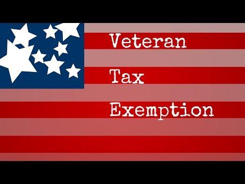 ACS Public Hearing on Veteran's Tax