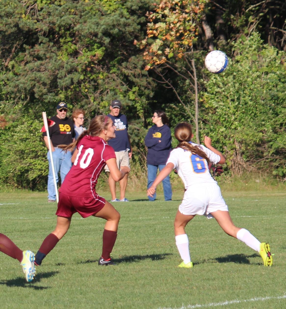 Girl's Soccer Plays Tough Game Vs Tonawanda