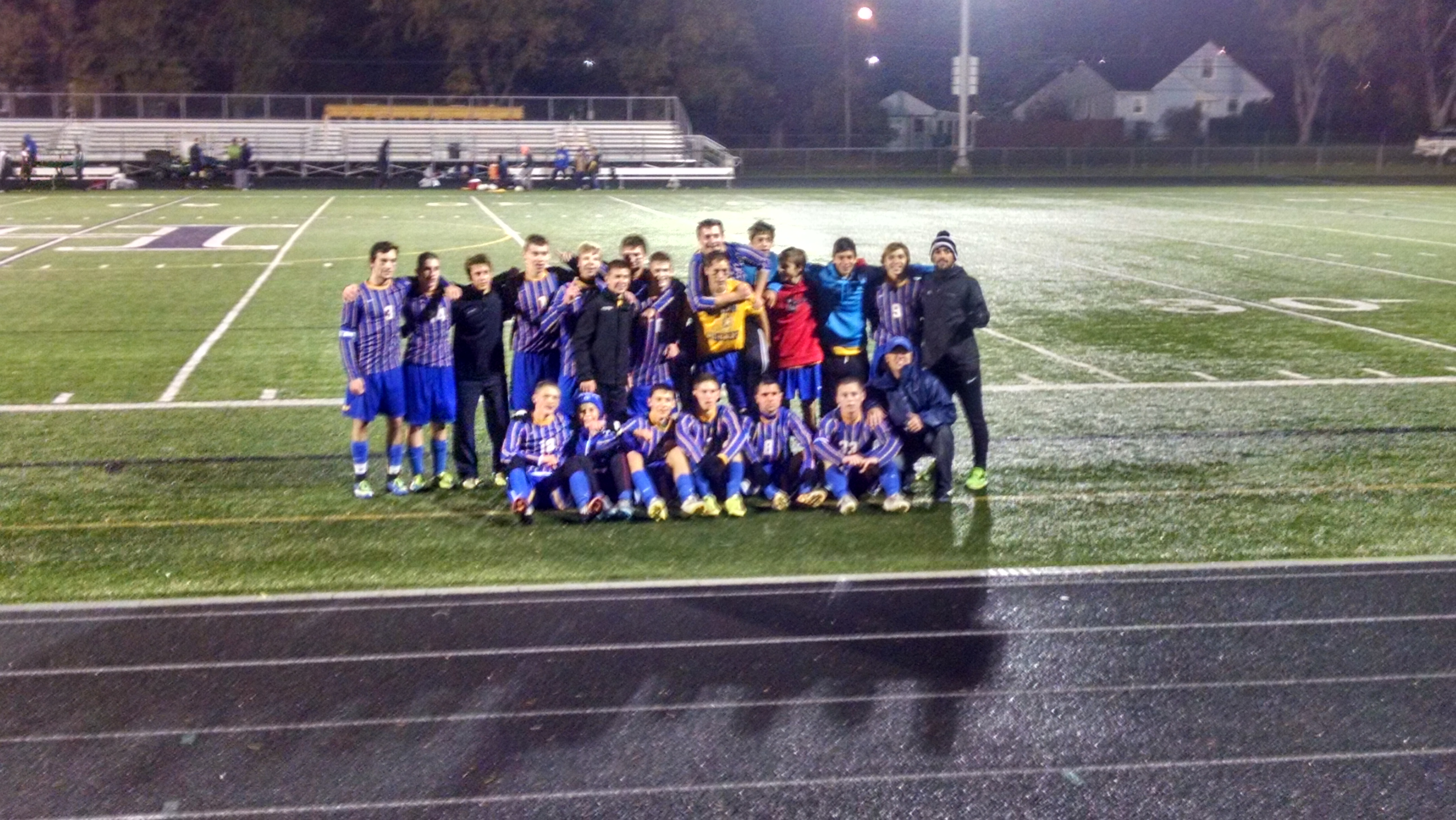 Boys Soccer in Sectional Finals