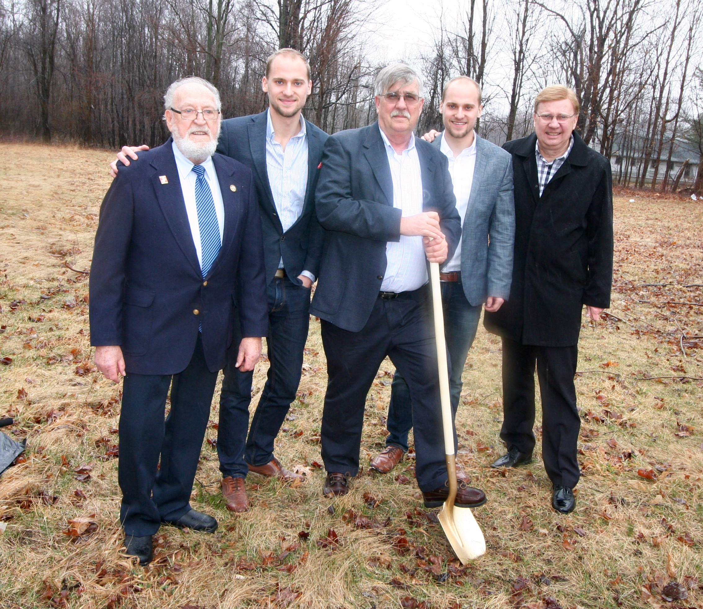 Ground Breaking for Patio Home Subdivision