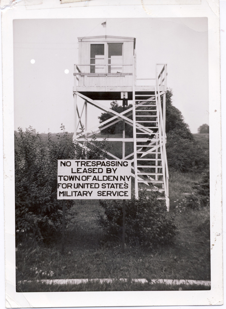 Alden's WWII Observation Post