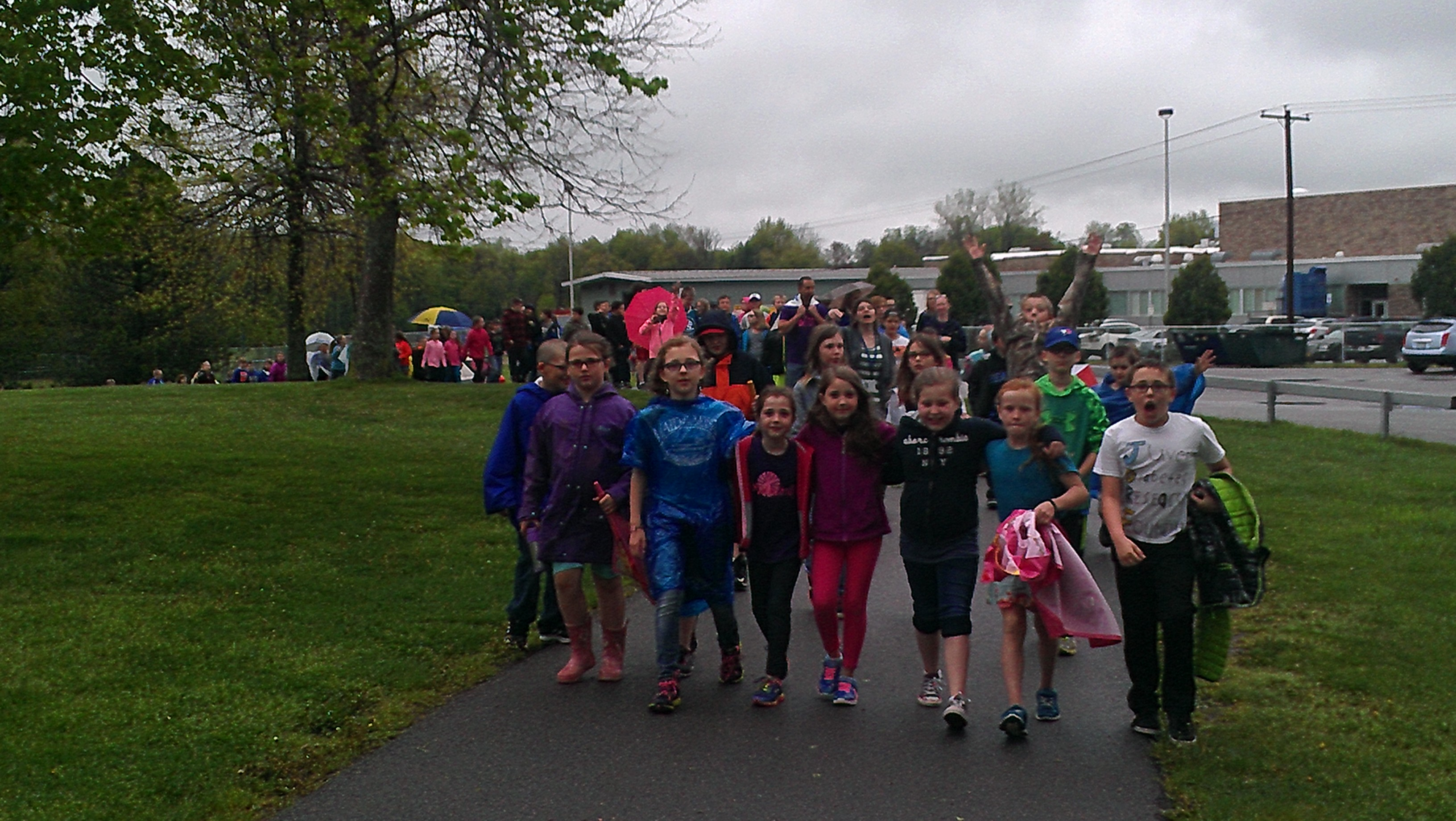 Middle School JDRF Kids Walk 2016