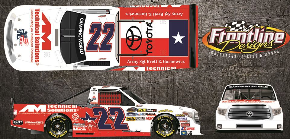 Austin Wayne Self to Pay Tribute to Fallen Soldier Brett Gornewicz at Charlotte
