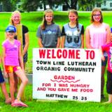 Tine Line Lutheran Church has Organic Garden