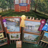 Historical Society Display Wins 3rd Place