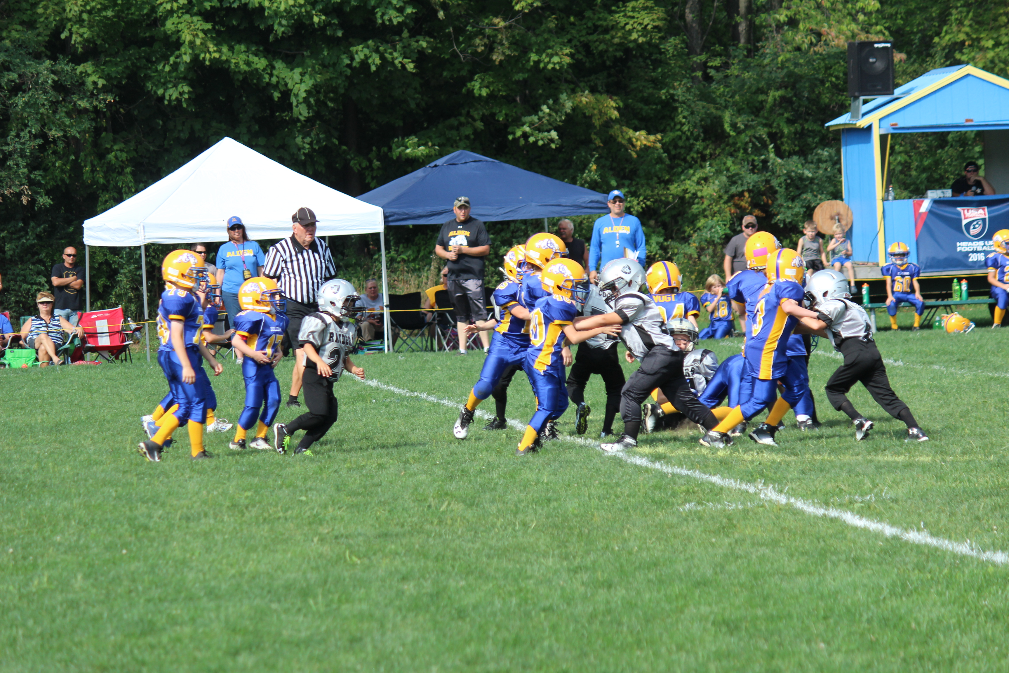 AJFC Hosted Holland Raiders on Sept. 10th