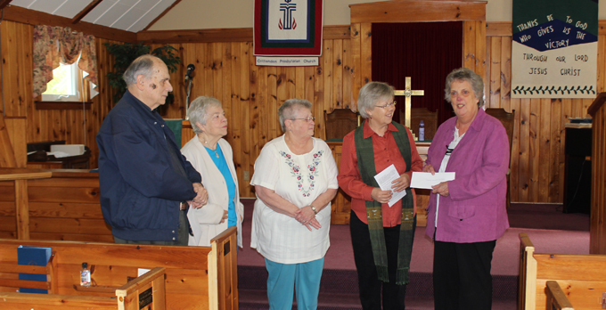 Crittenden Presbyterian Church Donates to  Local Food Pantries