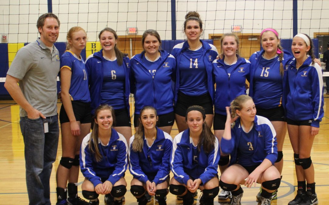 Girl's Volleyball Heads to Semi-Finals; Home Game on Nov. 1st