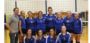 Volleyball Advances to B2 Finals
