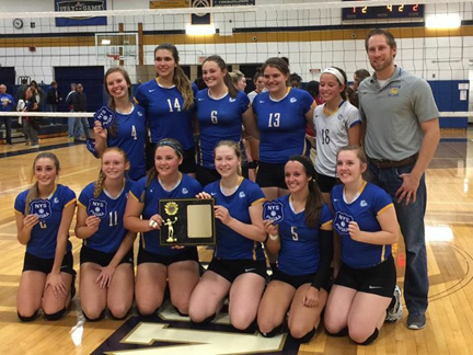 Volleyball Team is Section VI Class B2 Champion