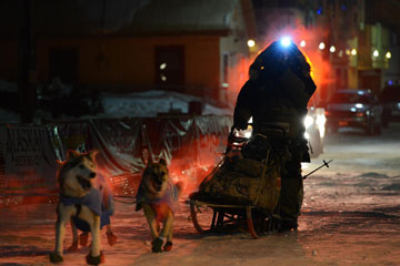 Alden Native Casillo, Once Again Competes in Iditarod Race