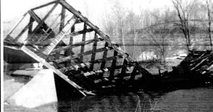 Cowlesville Landmark Destroyed by Blaze St. Patrick's Day 1966
