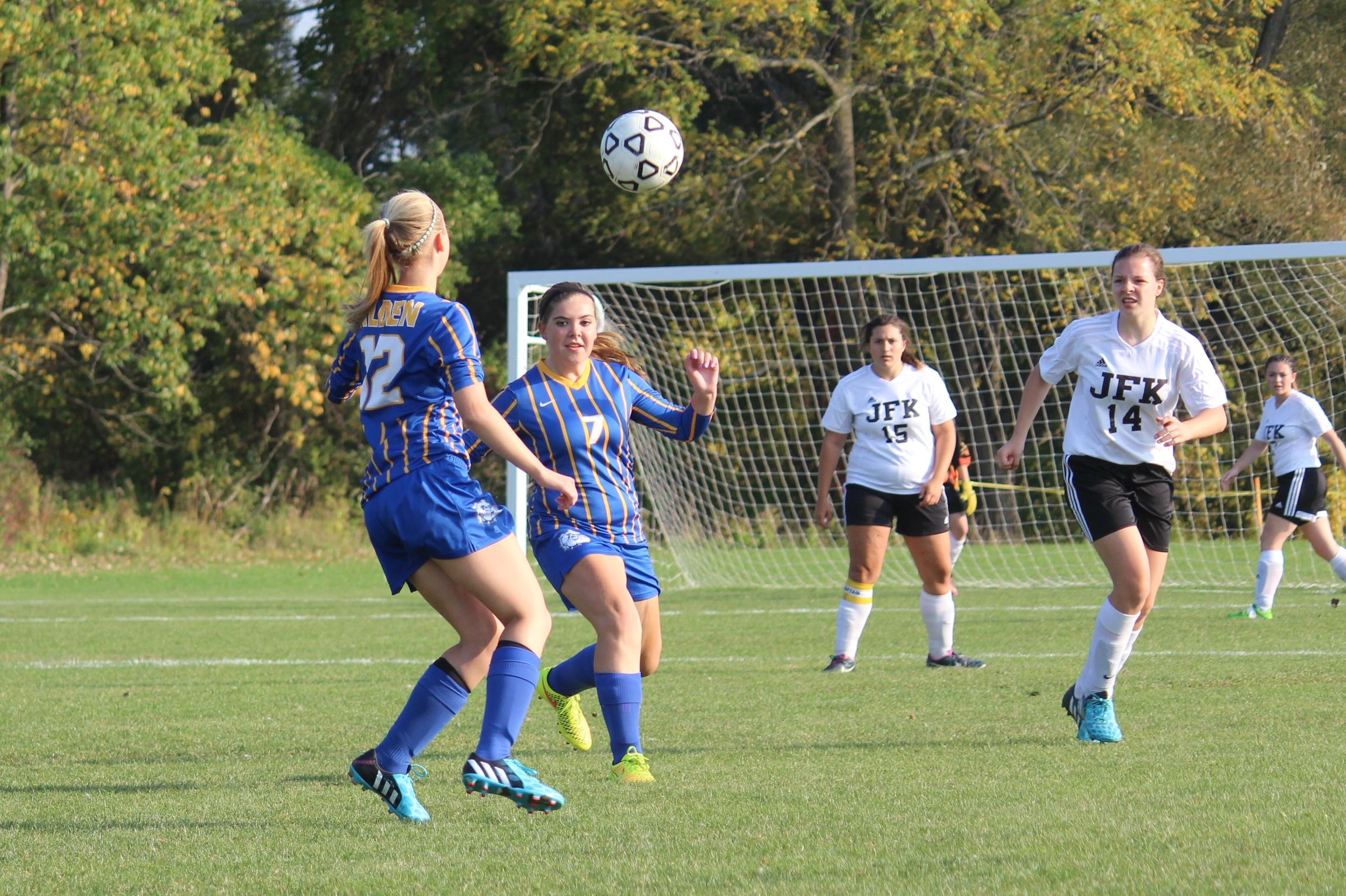 Girl's Varsity Soccer 3rd in Division
