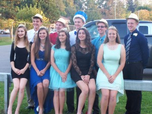 Homecoming Queen, King and Court