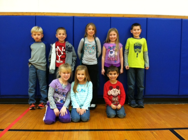 Mr. Bergler's Alden Primary Physical Education Stars