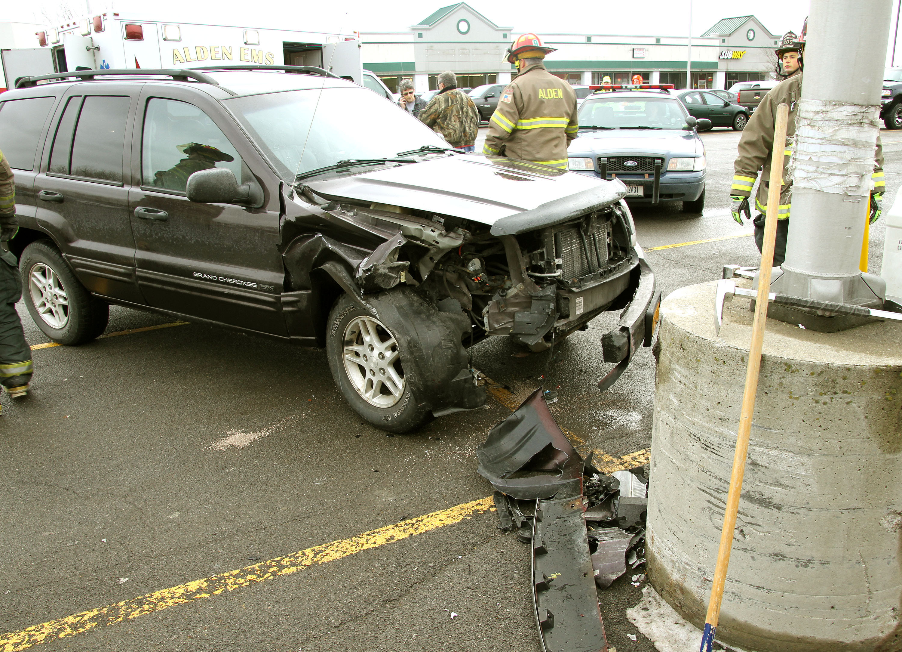 One Vehicle Accident