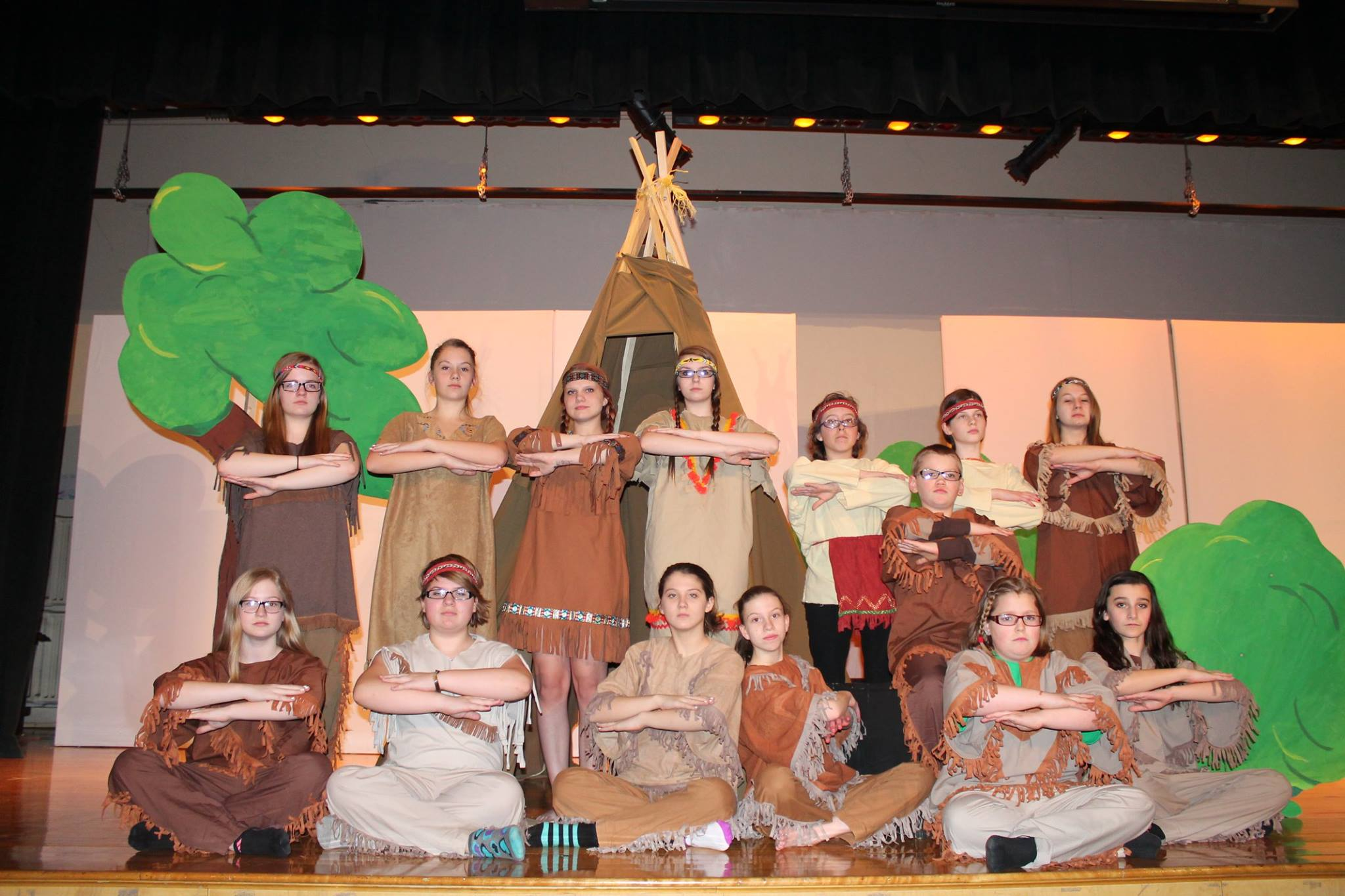 Peter Pan Jr. at Middle School March 19-21