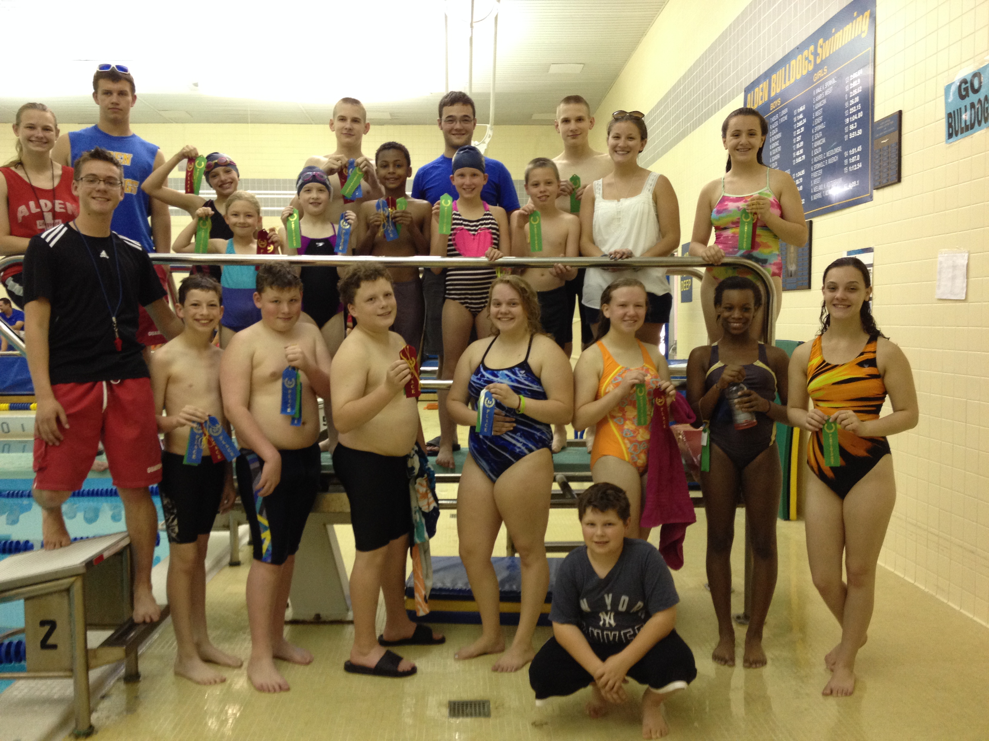 Alden Bulldog Swim Club