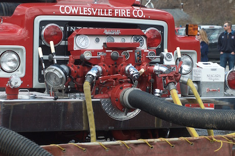 Cowlesville Firefighters Recognized