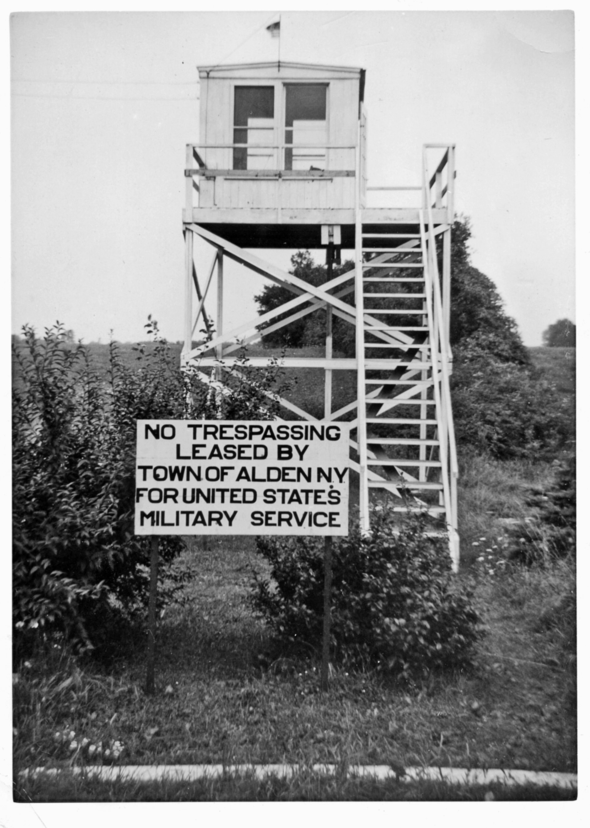 Former WWII Aircraft Observation Tower Volunteers Wanted