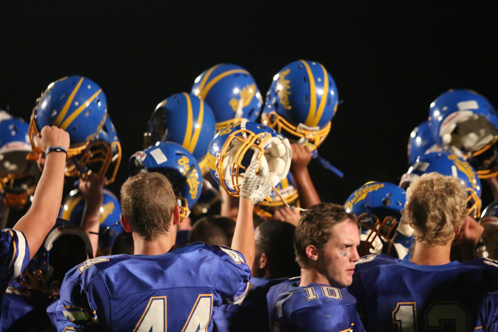 Varsity Football Starts Season with a Win