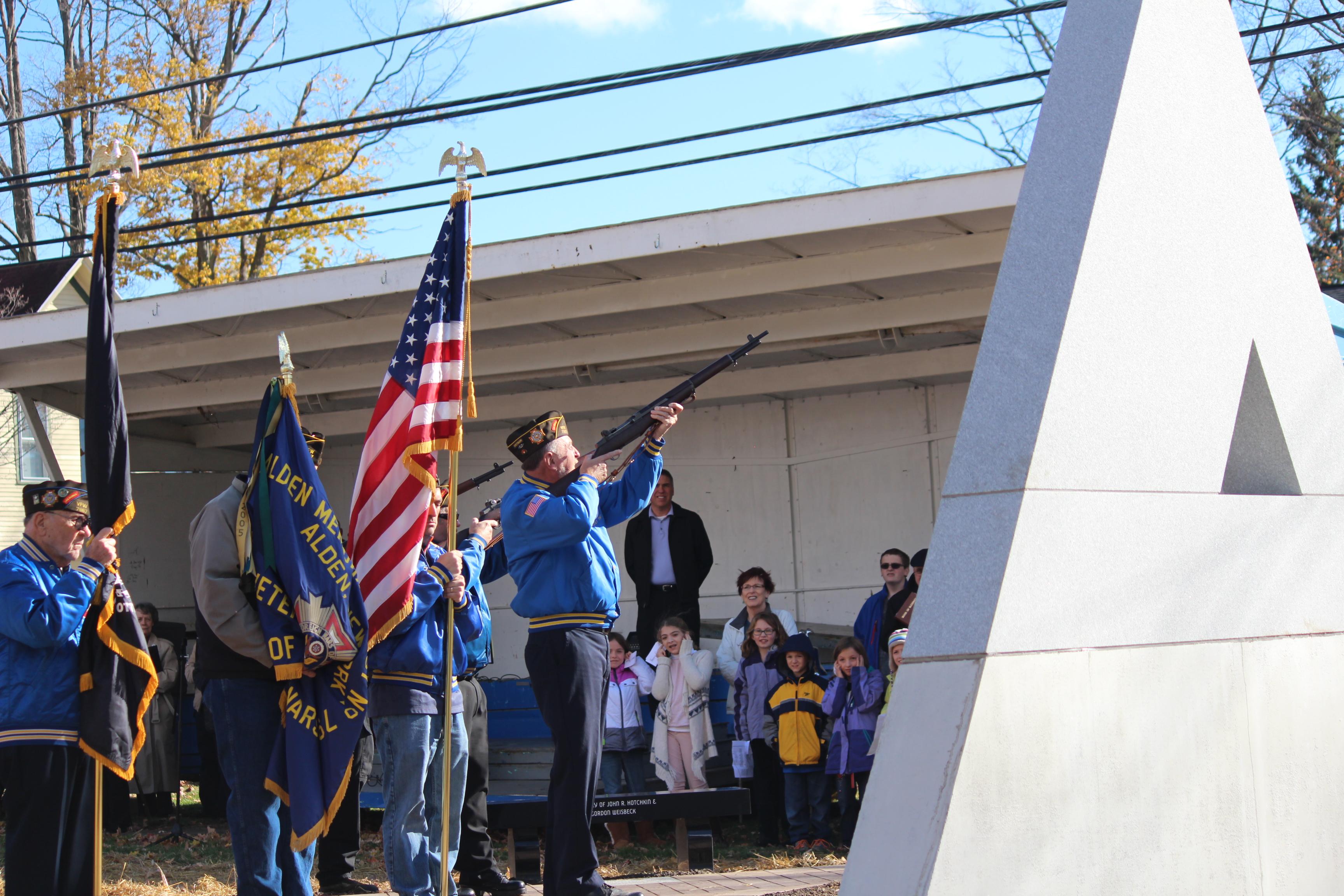 Veteran's Memorial Wall Dedication was Nov. 1st