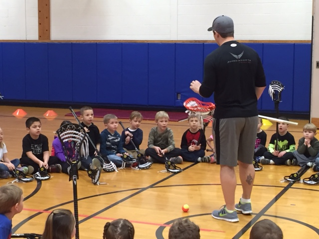 Buffalo Bandits Visit Primary School