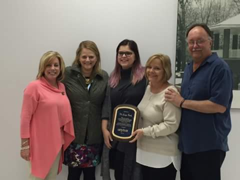 Gramza Family Honored for Raising over $100,000 for UNYTS