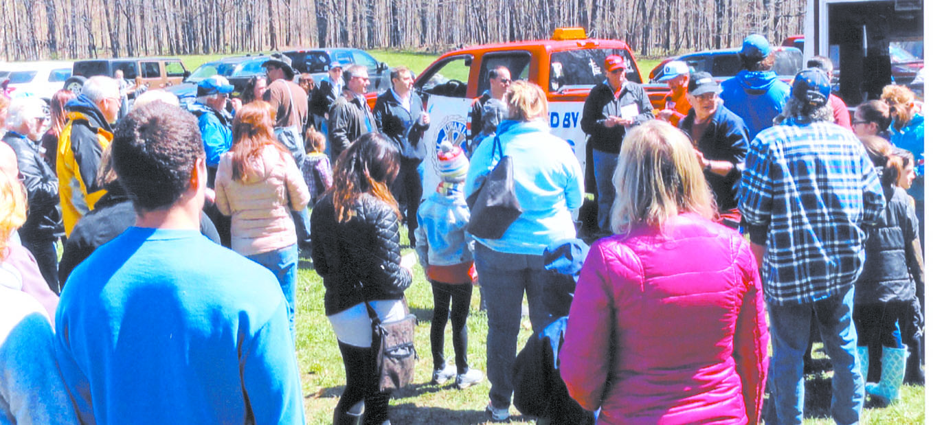 The Kiwanis Club Duck race was held on April 23rd