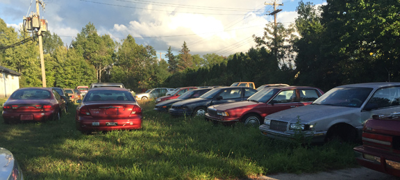 "Alaura Drive Residents Tire of Nearby ""Junk Yard"""