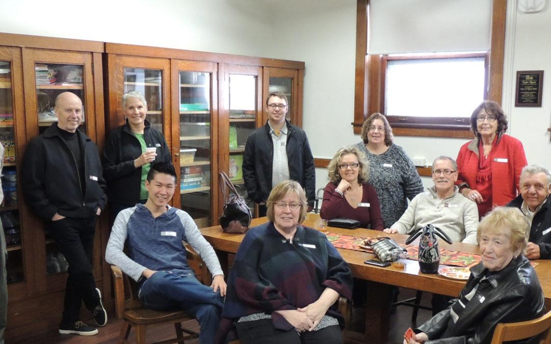 Ewell Library Dedicates Taylor Room