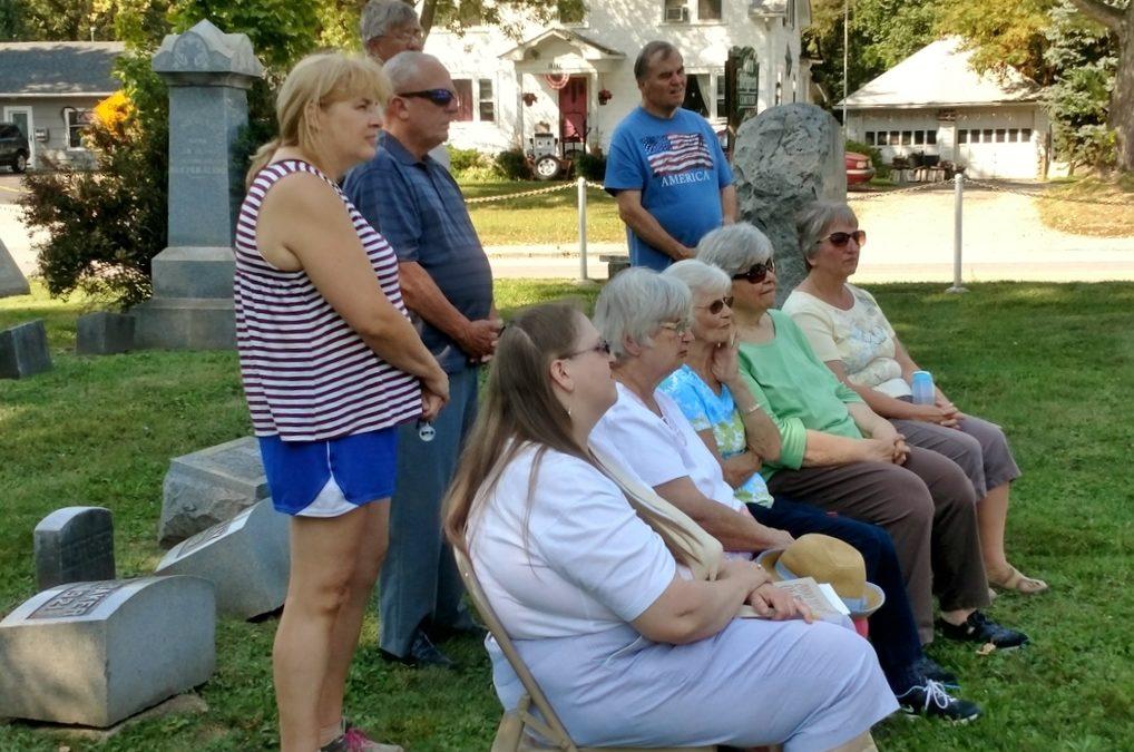 Historical Society Honors Revolutionary War Vets
