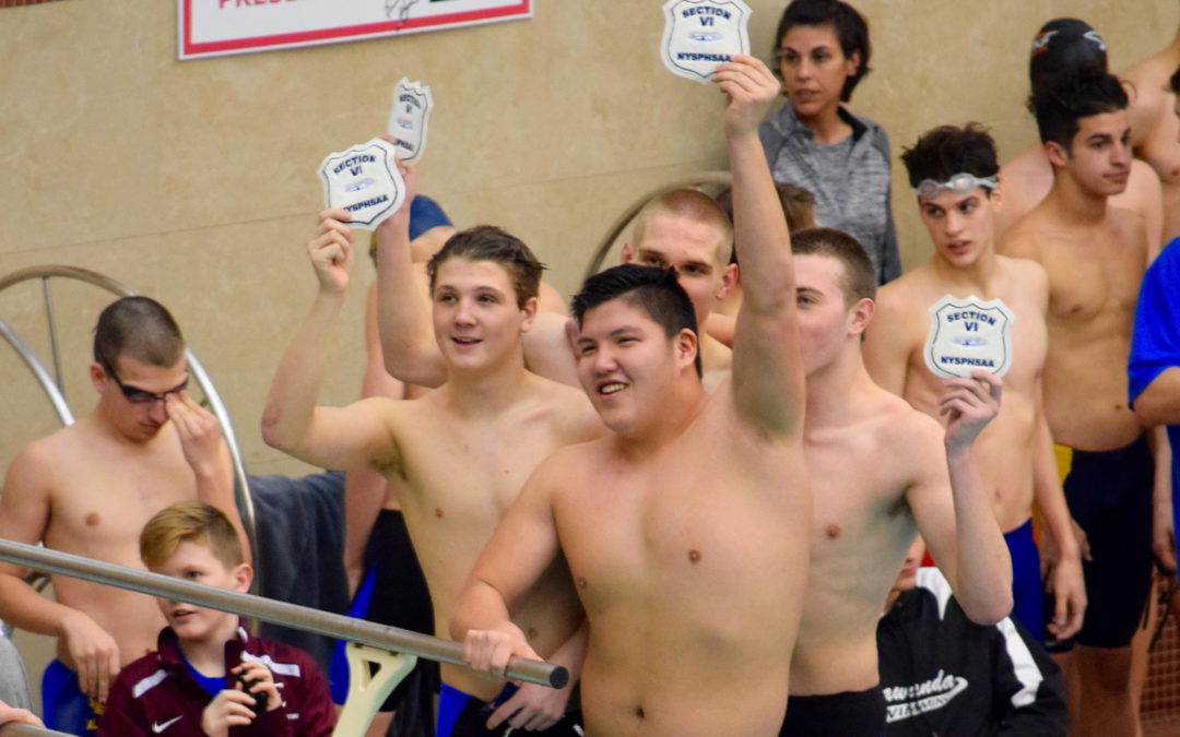 Alden Has a Class C Champ;  Swim Team Takes 5th