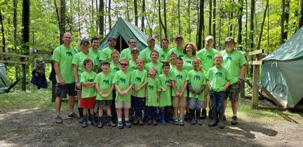 Cub Scout Troop 160 Camp