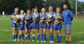 Girl's Varsity Soccer Senior Night