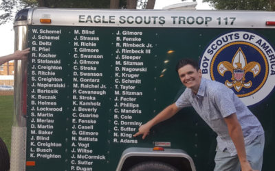 Troop 117 Eagle Scouts