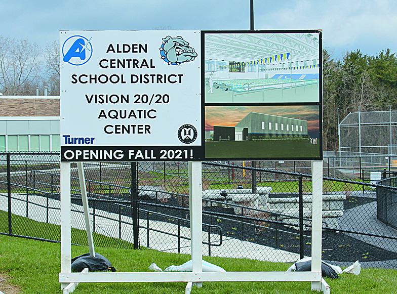 ACS Aquatic Center Construction Underway